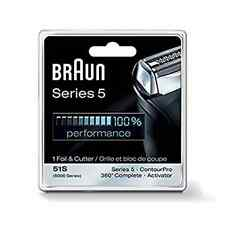 Braun Series 5 Combi 51s Foil And Cutter Replacement Pack (Formerly 8000 360)NEW
