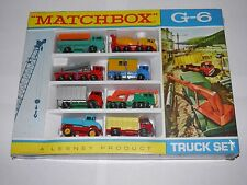 Matchbox lesney-G-6 camion set ensemble cadeau original shrink mint 1968 rare