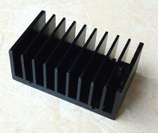 1X Black heatsink FOR LM1875 TDA2030 IC chip HEAT SINK Aluminum Cooling