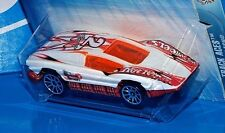 Hot Wheels 2004 Track Aces Series #208 Aeroflash White & Orange w/ 10SPs