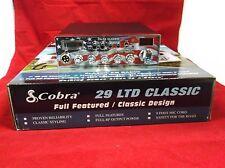 BRAND NEW COBRA 29 LTD CLASSIC CB RADIO PRO TUNED,MOFSET,SWING KIT,USA FACEPLATE