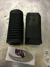 YAMAHA SR250SE RIDERS FOOT REST RUBBERS NEW 1980 - 1982