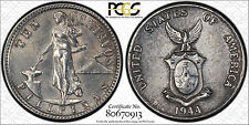 US Philippines 1944-D/D/D Ten Centavos PCGS UNC D A-9.04aa - Buy Now