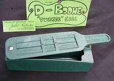 Brand New D-Boone Super Turkey Gobbler & Hen Call Chalkless Box Caller #XL-1000