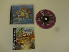 Rocket Power Team Rocket Rescue PlayStation 1 One PS1 FREE SHIPPING COMPLETE