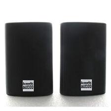 Acoustic Audio AA351B 2-way 500-watt Black Indoor/ Outdoor Speakers