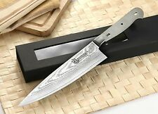 KATSURA Japanese Damascus Chef's Knife kit blank VG-10 Steel 67 Layers 8 inch