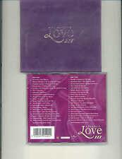 VARIOUS ARTISTS - A PERFECT LOVE 3 (VELVET SLIP CASE) - 2000 UK DOUBLE CD ALBUM
