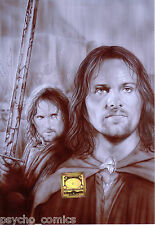 lord of the rings.14 x .A.4 ORIGINAL PRINT by duncan gutteridge.exclusive