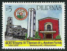 Philippines 2667, MI 3152, MNH. St.Thomas Aquinas Parish, 400th anniv. 2000
