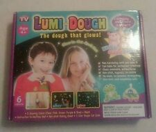 Lumi Dough-The Dough That Glows-As Seen on TV-5 Colors-Hygenic Safe Silicone