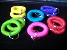 12 SPIRAL WRIST COIL KEY CHAIN RING