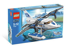 LEGO City Police Pontoon Plane (#7723)(Retired 2008)(Very Rare)(NEW)