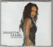 (EX451) Samantha Mumba, I'm Right Here - 2002 DJ CD