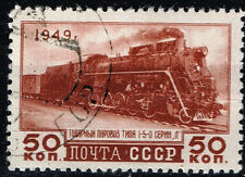 Russia Soviet Railroad Locomotive stamp 1949