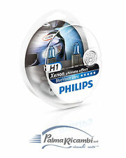 LAMPADE AUTO PHILIPS H1 BLUE VISION ULTRA 12V 55W XENON EFFECT +2 LUCI POSIZIONE