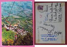 Lizzano in Belvedere - Seggiovia Monte Pizzo e panorama 1968