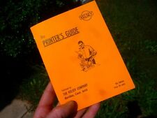 THE PRINTER'S GUIDE  THE KELSEY CO NICE REPRINT 9TH ED LETTERPRESS ALL YOU NEED