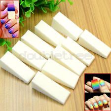 16 Pcs DIY Nail Art Equipment Makeup Soft Sponges Color Change Manicure Tools