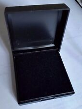 WHOLESALE JOBLOT 20 SMALL BLACK HINGED GIFT BOXES, NECKLACES, EARRINGS, ECT