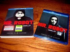 Mr. Robot: Season 2 (Blu-ray + Digital HD) with Mr. Robot patch.