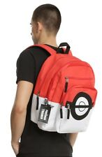 Pokemon Go Trainer Pokeball Backpack School Book Bag New With Tags!