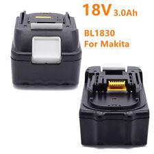 Makita 18V 3,0Ah LXT Li-Ion 3000mAh Akku BL1830 BL1830B mit Ersatzakku DE Stock