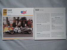 Eagle T1G & T2G F1 Cars Collectors Classic Car Cards