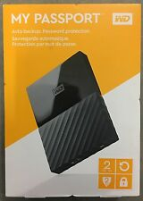 Western Digital WD 2TB My Passport Portable External Hard Drive USB 3.0*New