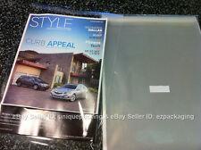50 Pcs 16 1/4 x 20 1/16 Resealable Poly Cello Bags Good for 16x20 Item Print Mat