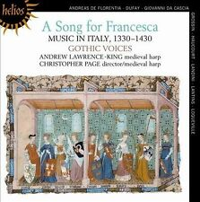 A SONG FOR FRANCESCA (NEW CD)