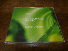 ECHO & THE BUNNYMEN - Nothing lasts forever !!!! ! RARE CD !! 850 941-2 !!!