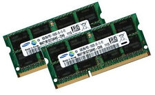 2x 8GB 16GB DDR3 1600 RAM ASUS ASmobile Notebook G53 Series SAMSUNG PC3-12800S
