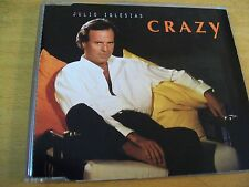 JULIO IGLESIAS CRAZY CD SINGOLO MINT---