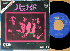 "BLACK SABBATH paranoid the wizard '70 japan picture sleeve 7"" PHILIPS SFL-1300"
