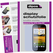 1x HTC One SV screen protector protection guard crystal clear