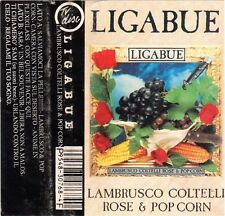 Luciano Ligabue Lambrusco Coltelli Rose E Popcorn - MC audio tape cassetta no cd