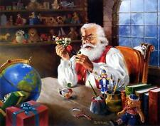 "R.J. McDonald ""Santa's Approval"" Signed and Numbered Print"