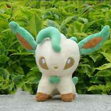 "Pokemon Plush Toy Leafeon 5"" Cool Cuddly Nintendo Game Stuffed Animal Doll"