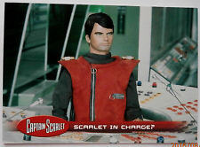 Captain scarlet-individuelle trading card #22, rouge écarlate en charge? - invincible