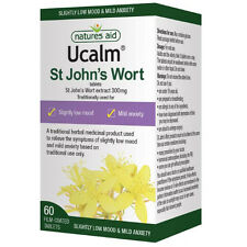 Ucalm St Johns Wort 300mg | 60 Tablets | Mood Support