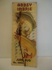 Abbey And Imbrie Vintage Lure - June Bug - No. 0662