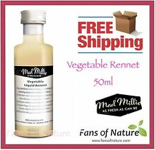 Vegetable Rennet by Mad Millie 50ml - for Cheese Making