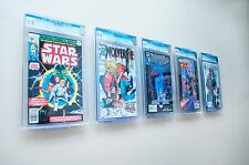 "Comic Book Display - ""Two in One"" Turns into either a Wall Mount or Shelf Stand"