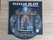 HAMMERFALL - LEGACY OF KINGS - LP 33 GIRI PICTURE DISC LTD. EDITION
