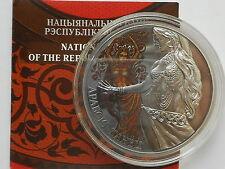 Belarus  Weißrussland  20 rubel 2011 Arabic Dance Silver Coa
