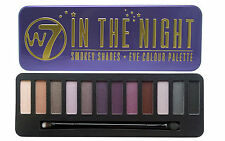W7 IN THE NIGHT TONALITà SMOKEY EYE COLOUR PALETTE