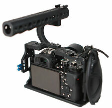 A7S-II A7R-II DSLR Top Handle Grip Leather Strap Cage For Sony A7S2 A7R2 Camera