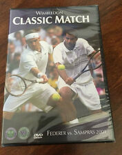 ROGER FEDERER V. PETE SAMPRAS July 2nd 2001 (DVD 2001) WIMBLEDON TENNIS Classic