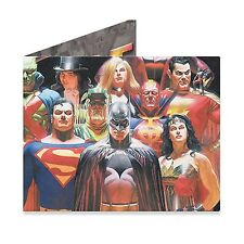 TYVEK DC Comics Justice League Design Mighty Wallet Dynomighty Wallets DY805
